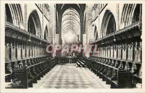 Moderne Karte St paul de leon la basilique le ch�ur Orgue