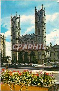 Moderne Karte Montreal quebec canada notre dame church eglise notre dame