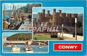 Moderne Karte Conwy Bateaux