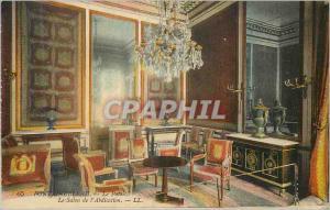 Ansichtskarte AK Fontainebleau Le Palais Le Salon de l Abdication