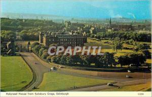 Moderne Karte Holyrood House from Salisbury Crags Edinburgh