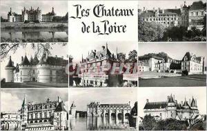 Moderne Karte Les Chateaux de la Loire Les Merveilles du val de Loire Les Chateaux Chambord Blois Chaumont Aza