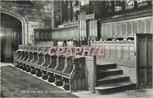 Moderne Karte The Royal Pew St Giles Cathedral Edinburgh