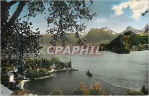 Moderne Karte Lac d Annecy Talloires et le Petit Lac