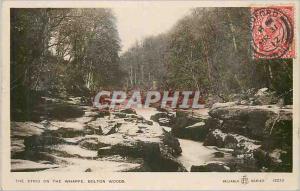 Moderne Karte The Strid on the Wharfe Bolton Woods