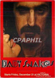 Moderne Karte Baby Snakes Guilds Starts at Friday December at Victoria Les Affiches de Concert Zappa