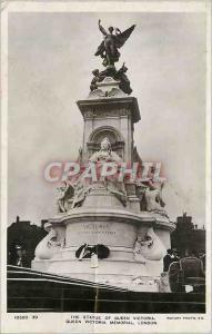 Moderne Karte London The Statue of Queen Victoria Queen Victoria Memorial