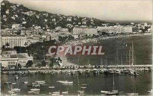 Moderne Karte Cannes Vue sur le Port et la Croisette