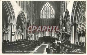 Ansichtskarte AK The Choir Looking East Welles Cathedral