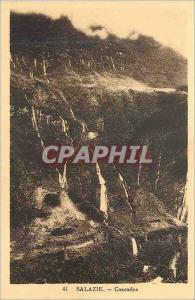 Ansichtskarte AK Salazie Cascades