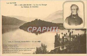 Ansichtskarte AK La Savoie Aix les Bains Le Luc du Bourget Le Chateaux de Chatillon