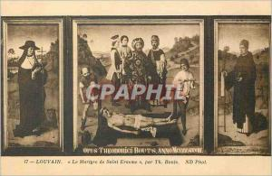 Ansichtskarte AK Louvain Le Martyre de Saint Erasme par Th Bouls ND
