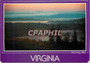 Moderne Karte Virginia Morning Mist