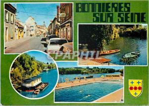 Moderne Karte Bonnieres sur Seine (Yvelines) Sa piscine Ses Bords de Seine