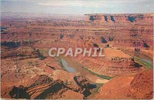 Moderne Karte Colorado River From Dead Horse Point Near Moab Utah off highway US