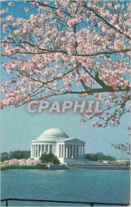 Moderne Karte Jefferson Memorial Washington D C This lonic Temple of white marble designed according to the ta