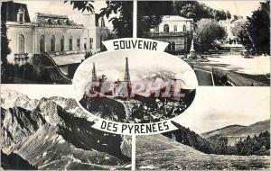 Moderne Karte Souvenir des Pyrenees Les Bagneres de Bigorre Col du Tourmalet Col d'Aspin