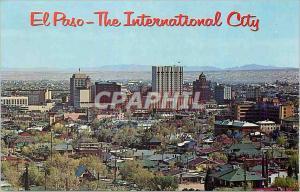 Moderne Karte El Paso Texas Downtown El Paso from Rim Road