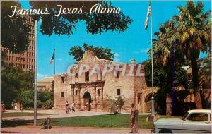 Moderne Karte The Famous Alamo San Antonio Texas