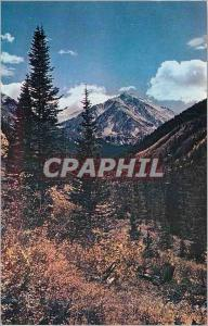 Moderne Karte Colorado Rockies Torries Peak Elevation