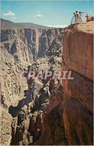 Moderne Karte Chasm View West Colorado The Black Canyon of the Gunnison National Monument