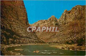 Moderne Karte Utah and Colorado Split Mountain Gorge Dinosaur National Monument