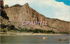 Moderne Karte Canyon Country in Dinosaur National Monument Colorado and Utah
