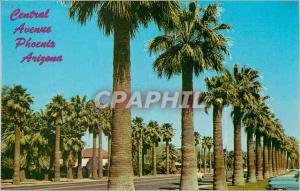 Moderne Karte Central Avenue Phoenix Arizona Palm Lined Central Avenue