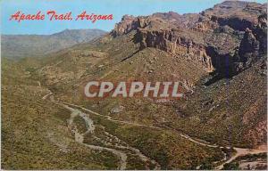 Moderne Karte Apache Trial Arizona