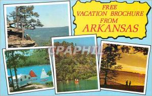 Moderne Karte Free Vacation Brochure from Arkansas