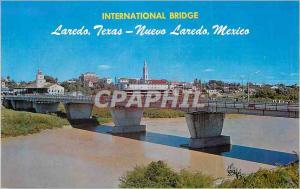 Moderne Karte International Bridge Laredo Texas Nuevo Laredo Mexico