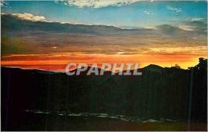 Moderne Karte Shenandoah National Park Sunrise from Skyland Resort and Stoneyman Mountain VA