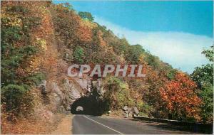 Moderne Karte Famous Tunnel on Skyline Drive Shenandoah National Park Va