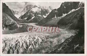 Moderne Karte Chamonix (Hte Savoie) La Mer de Glace