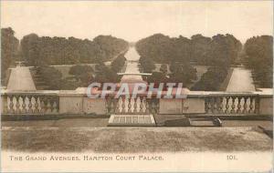 Ansichtskarte AK The Grand Avenues Hampton Court Palace