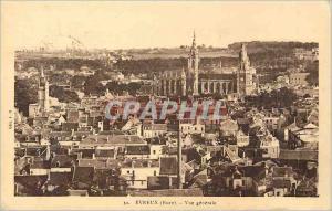 Ansichtskarte AK Evreux (Eure) Vue Generale