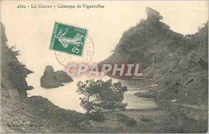 Ansichtskarte AK La Ciotat Calanque de Figuerolles