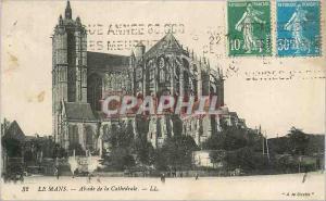Ansichtskarte AK Le Mans Abside de la Cathedrale