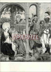 Moderne Karte Colmar (Haut Rhin) Musee d'Unterlinden L'Adoration des Magues Retable de la Vierge des Grancisca