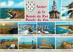 Moderne Karte Images de la Pointe du Raz Pointe du Van
