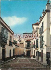 Moderne Karte Sevilla Quartier de Santa Cruz