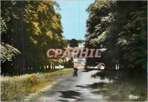 Moderne Karte Broglie (Eure) Le Chateau vu de l'Allee Royale