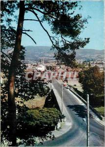 Moderne Karte Ambert (P de D) Avenue du Pont