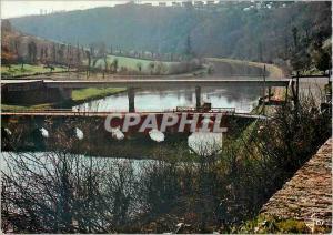 Moderne Karte Chateauneuf du Faou (Finistere) La Bretagne en Couleurs Le Vieux Pont du Roi et le Pont Neuf