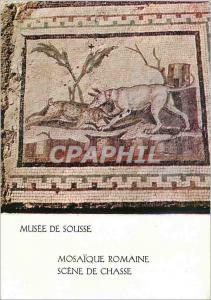 Moderne Karte Musee de Sousse Mosaique Romaine Scene de Chasse