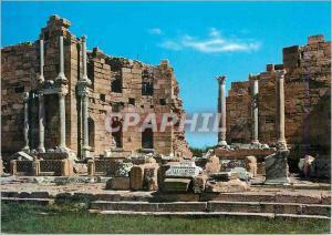 Moderne Karte Leptis Magna (Libya) The Great Nymphaeum