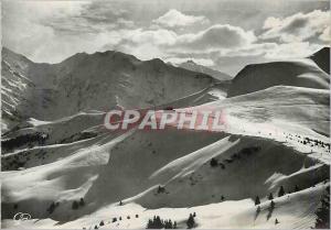 Moderne Karte St Gervais les Bains (870 m) Hte Savoie La Chaine du Mont Blanc Vue du Mont d'Arbois (1829 m)