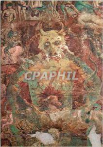 Moderne Karte Pisa Camposanto Monumentale Le Jugement Universel Detail Le Demon