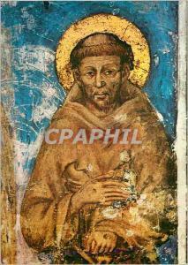 Moderne Karte Assisi Basilique de St Francois detail (Cimabue)