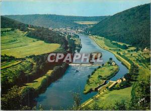 Moderne Karte Ardennes La Merveilleuse Vallee de la Meuse Couleurs et Lumiere de France Un Joli Point de vue
